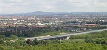 Fuerth Nuremberg City Langwasser from Alte Veste f w.jpg