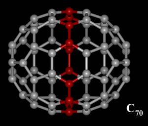 C70 fullerene - Image: Fullerene C70