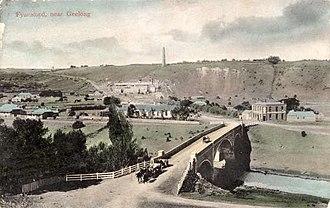 Fyansford, Victoria - Image: Fyansford Geelong 1908