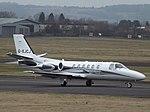 G-XJCJ Cessna Citation Bravo 550B Xclusive Jet Charter Ltd (34062832172).jpg