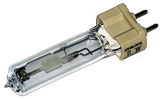 Ceramic discharge metal-halide lamp - ceramic discharge metal-halide light bulb with G12 socket