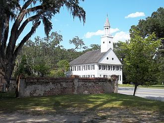 Midway, Georgia - Midway Church and cemetery