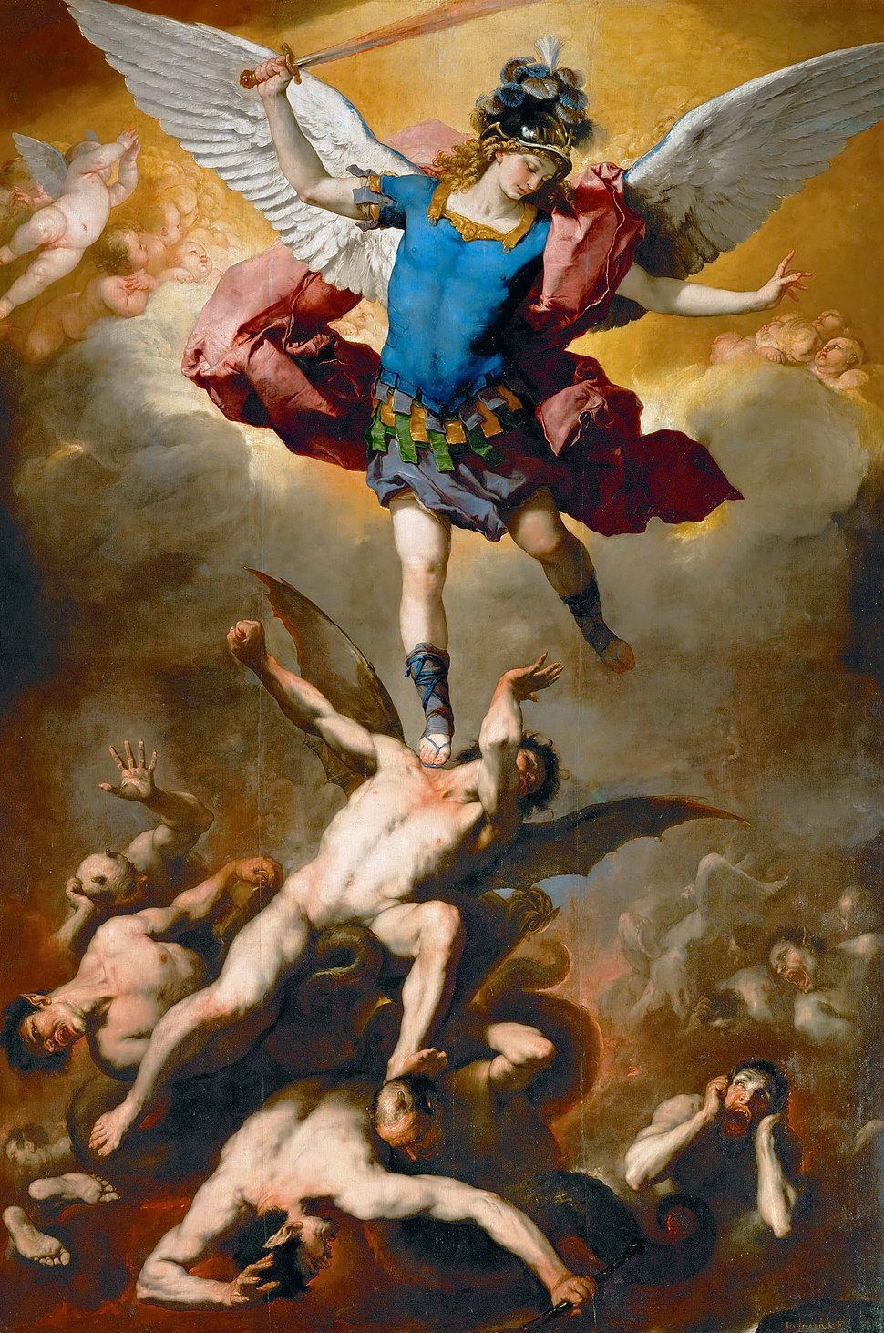 GIORDANO, Luca fallen angels