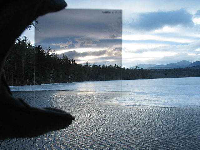 A graduated ND filter