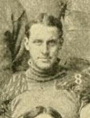 G. O. Dietz - Dietz pictured on the 1901 Northwestern Team