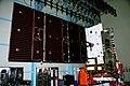 GSAT-31 during north solar panel deployment test.jpg
