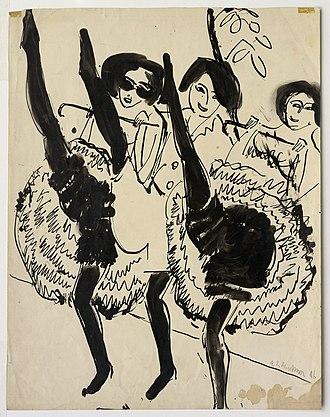 Ernst Ludwig Kirchner - Image: GUGG Dancers