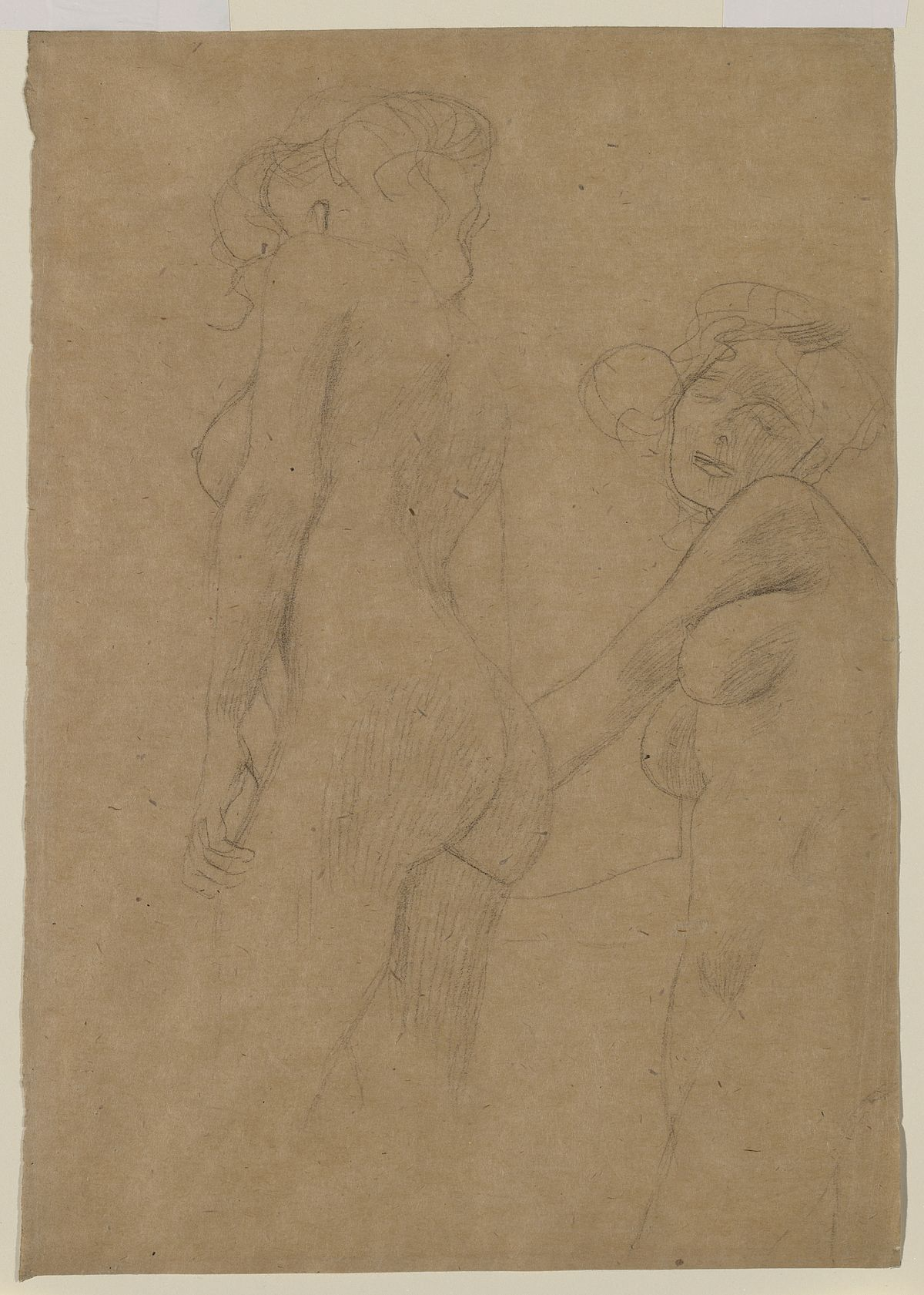 Gustav Klimt: Two Female Nudes Standing