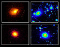 Galaxy Cluster Roentgen and GravityLense.jpg