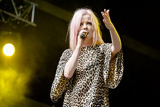 Shirley Manson Scottish singer and artist