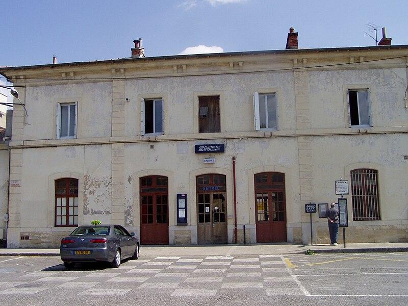 Train station of Manosque - Gréoux-les-Bains
