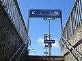 Gare de L'Arbresle - Escalier accès (mars 2019).jpg