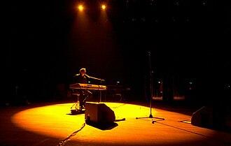 Garou (singer) - Garou on stage in 2009
