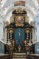 Garsten Pfarrkirche Hauptaltar Fastenzeit.jpg