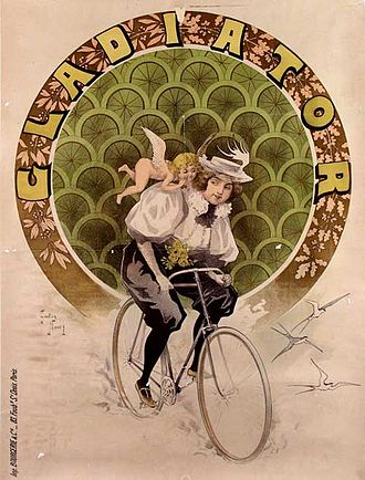 Gladiator Cycle Company - Poster by Gaston Noury