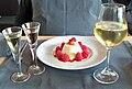 Gastronomie - Beaume de Venise & Flan Citron - Framboise.jpg