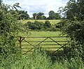 Gateway with view towards part of South Elmham Hall Farm complex - geograph.org.uk - 863788.jpg