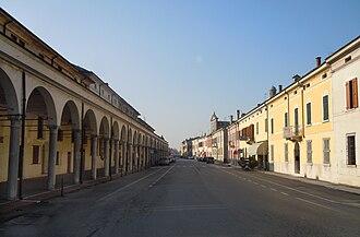 Gazzuolo - Image: Gazzuolo Panorama