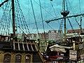 Gdańsk, przystań pasażerska nad Motławą - replika galeonu jako statek wycieczkowy (panoramio 76388445).jpg