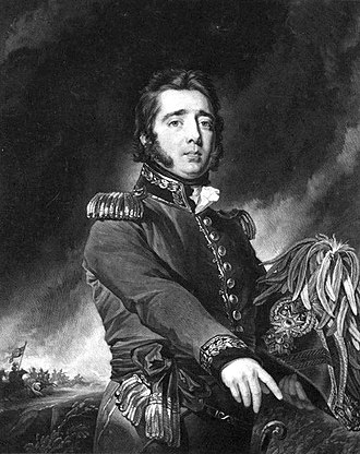 Gregor MacGregor - General Gregor MacGregor; mezzotint by Samuel William Reynolds, after Simon Jacques Rochard, c. 1820–35