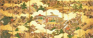 Genpei War conflict during late-Heian period of Japan