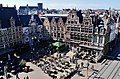 Gent Sint Veerleplein viewed from Burg Gravensteen 1.jpg