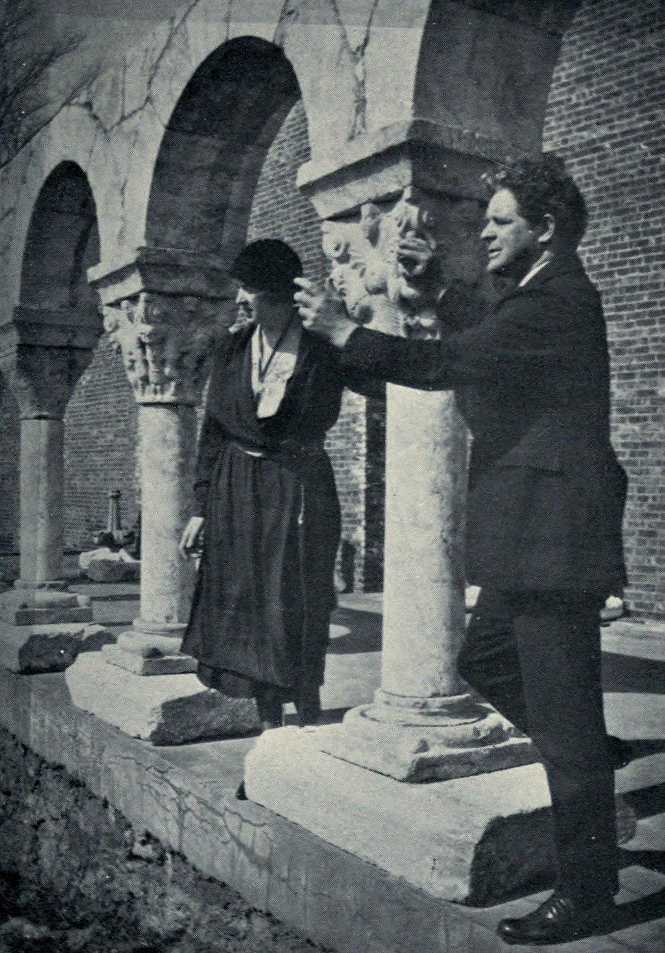 George Grey Barnard and Clare Frewen Sheridan