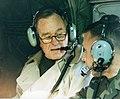 George H.W. Bush Visiting Quantico, January 1997 (46109970432).jpg