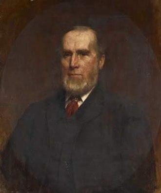 George Holt (merchant) - George Holt, junior. Oil on canvas, 1892, by Robert E. Morrison