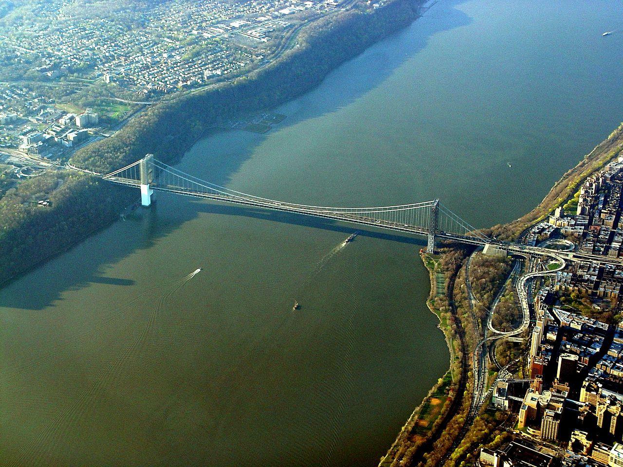 Staten Island From Gwb
