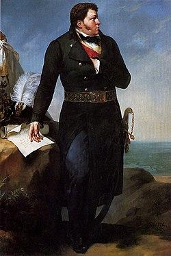 Georges Cadoudal, peinture de Paul Amable Coutan, 1827.
