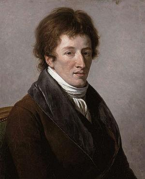 Georges Cuvier - Portrait by François-André Vincent, 1795