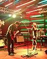 Georgian rock-band Vakis Parki performing at Hard Rock Cafe, Tbilisi. 27 October 2017 02.jpg