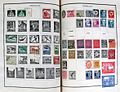 German postage stamps on album pages.jpg