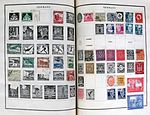 German postage stamps on album pages.jpg