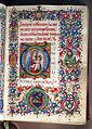 Gherardo e monte di giovanni, libro d'ore, marzo (annunciazione), firenze 1475-1500 ca. 03.JPG