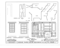 Giddings Tavern, 37 Park and Summers Streets, Exeter, Rockingham County, NH HABS NH,8-EX,7- (sheet 22 of 25).png