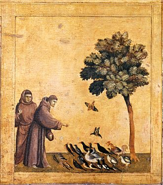 Saint Francis Receiving the Stigmata (Giotto) - Image: Giotto. Predella 3