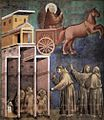 Giotto di Bondone - Legend of St Francis - 8. Vision of the Flaming Chariot - WGA09129.jpg