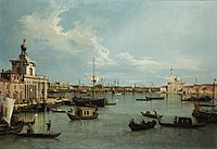 Giovanni Antonio Canal, il Canaletto - Venice - The Bacino from the Giudecca - WGA03920.jpg
