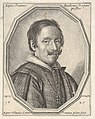 Giovanni Baglione, a bust-length portrait in a twelve-sided frame MET DP833523.jpg