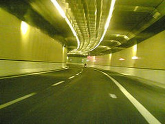 Giovanni XXIII Tunnel - Image of the Tunnel