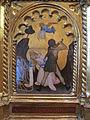 Giovanni da milano, polittico di prato, 1353-1363, da spedale della misericordia, predella 2, 01 decollazione di s. caterina.JPG