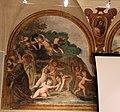 Giovanni da san giovanni, Cristo servito dagli angeli, Sant'Agostino, San Bartolomeo, 1629, 01.JPG