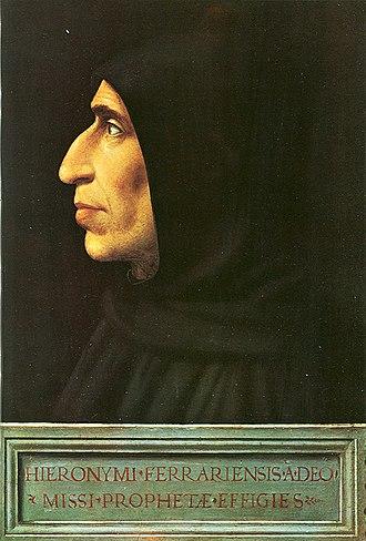 Republic of Florence - Girolamo Savonarola