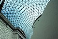 Glass and steel roof of the Great Court, British Museum, London - panoramio (11).jpg
