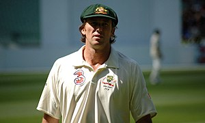 McGrath in his final test series - the 2006-07...