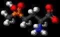 Glufosinate zwitterion 3D ball.png