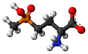 Glufosinate - Image: Glufosinate zwitterion 3D ball