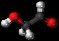 Glycolaldehyde 3D ball.png